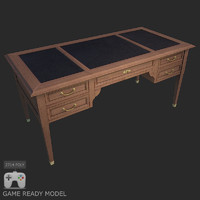 3d model table wood