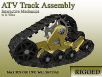 3d model atv track