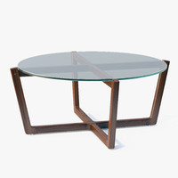 max dwr - atlas coffee table