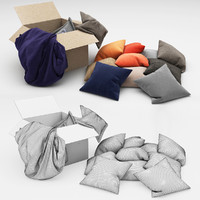 pillows 44 3d model