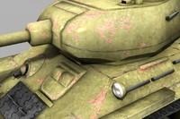 3d t-34 85