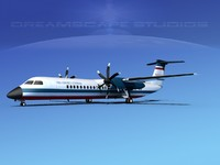 3ds max dhc-8-400 400