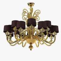 barovier toso tangeri chandelier max