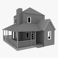 free non house 3d model