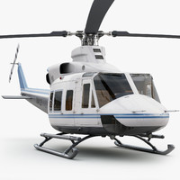 3d eurocopter bell 412 private