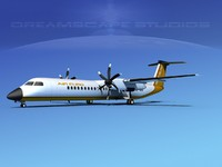 x dhc-8-400 400