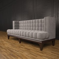 hudson sofa 3d max