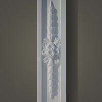 decorate facades ornament 3d model