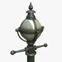 3d model asset polys light