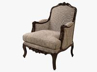 3d model eichholtz chair french