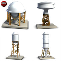 3d model industrial tanks