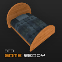 ready bed 3d model