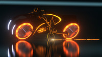 Tron Legacy Bike Rider CLU with Bike POSED [ COMBO]