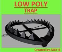 bear trap 3d model