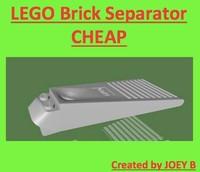 3ds max lego brick separator