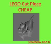 3ds max lego cat