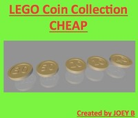 3ds max lego coin