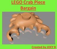 lego crab 3d 3ds