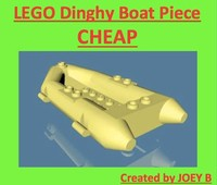 3d lego dinghy