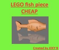 3dsmax lego fish