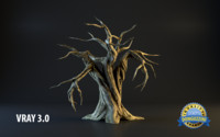 monster tree 3d max