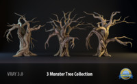 monster tree 3d model