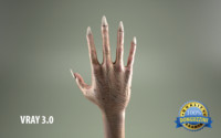zombie hand 3d 3ds