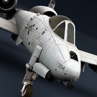 A-10 Warthog (High Poly)