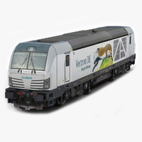 3d model siemens vectron