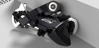 3d model lx deore rear derailleur