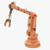 industrial robot arm 3ds