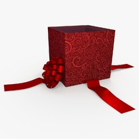 3ds max christmas gift present box