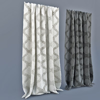 3d curtains modern style