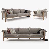 Jardan Wilfred Sofa & Chair Set