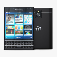 maya blackberry passport black