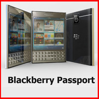 blackberry passport 3d max