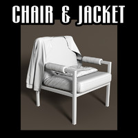 3d chair jacket pillow