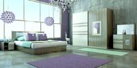 3d model of bedroom design