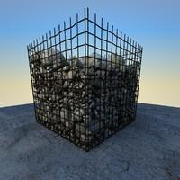maya rocks debris 3