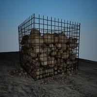 maya rocks debris 4