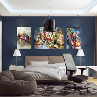 3d model kid bedroom scene