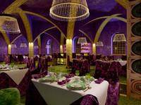 maya restaurant interior