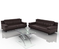 group sofa 6500 3d model