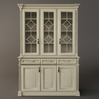3d kitchen sideboard model