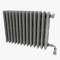 3d asset radiator model