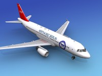 3dsmax airline airbus