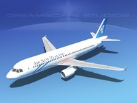 a320 airbus 3d 3ds