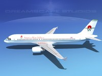 3d 3ds a320 airbus