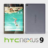 3d htc nexus 9 black model
