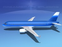 3ds max a320 airbus